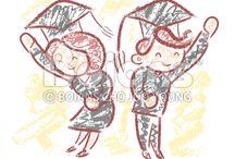 Vector Education Character / Boians Vector Education Character Series.
