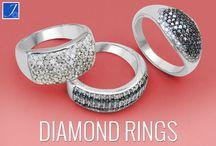 Diamond Rings / Johareez diamond rings collection