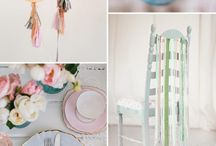 Wedding Themes: Pastels / Subtle pastel colours make every wedding look super pretty!
