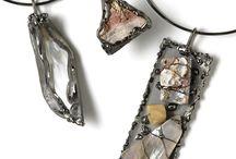 """Sensoria Gioielli / Creazioni e realizzazione bijoux. """"Sculture"""" uniche realizzate a mano."""