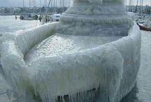 **** ICE AN SNOW ****