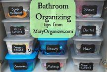 Organization / Bathroom products / by Lisa Thompson