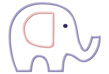 Applique - Elephants !