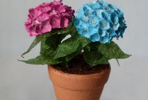 tutorials: flowers (hydrangeas & lavender) / Tutorials for miniature lavender and hydrangeas