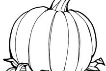 Pumpkin and Halloween printables