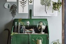 Green Decor / Green is my favorite color and this board is dedicated to beautiful green decor