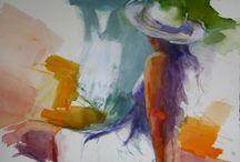 Figures & Nudes / My impressionistic paintings