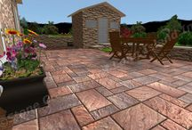 3D Cambridge Ledgestone Paver Patio and Landscape Design / 3D Cambridge Ledgestone Paver Patio and Landscape Design    Designed and Installed by Stone Creations of Long Island Pavers and Masonry Corporation, Deer Park, N.Y 11729    www.stonecreationsoflongisland.net   (631) 678-6896 - (631) 404-5410 / by Stone Creations of Long Island