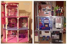 superhero doll house ideas