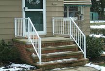 Railings / Stair and porch railings installed by Fairview Home Improvement.