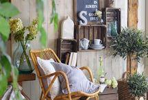 Decoration : veranda