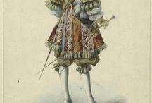 Historical inspiration - Fashion/art 17th -18th century