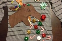 Pulls moches de Noël