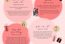 Bridal Shower / I hope this will be a place we can throw a collection of ideas into for a casual, fun bridal shower in April! / by Erin Wosick