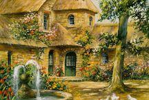 Prints - Cottages