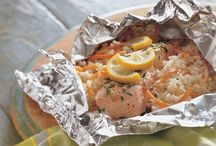 Fish, Seafood - BBQ
