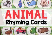 Kindergarten Rhyming