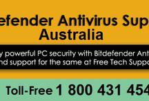 Contact 1-800-431-454 Bitdefender Support Australia