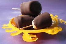 Obst und Schokolade