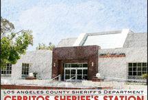 Cerritos Sheriff's Station / 18135 Bloomfield Ave. Cerritos, California 90703- Phone (562) 860-0044