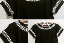 Camisetas perlas