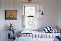 Beach Decor / There is a certain design sense when decorating for the beach. These photo's epitomize the Beach decor. / by Antique Iron Beds by Cathouse Beds