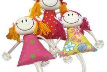 bonecas chaveiros