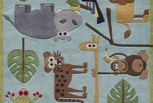 Carpets for Kids / A selection of carpets and flooring made for children.