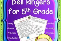 Math Bellringers / by Ami Caldwell