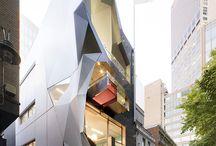 Geometric fasade