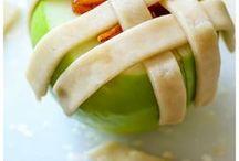 яблоки печем, готовим