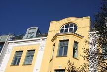 Jugend og Art Nouveau - Bygg og Bevar / Vi har samlet bilder av bygninger og interiør i Jugend og Art Nouveau-stil. Håper de kan være til inspirasjon for deg dom jobber på, eller eier, et hus fra den perioden!