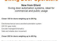 Automatic Doors / http://www.ellard.co.uk/automated-swing-doors/