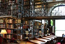 Libraries / a haven for books
