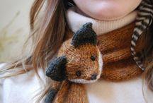 sciarpa volpe