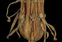 16th C German Leather Pouch