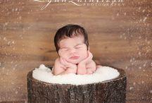 Winter newborn
