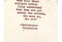 Favorite Poems by Christopher Poindexter