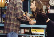 }Ross and Rachel{