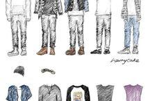 1D drawings