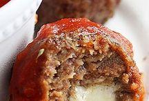 Meatball stuff mozzarella