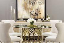 3. Glamour interior design style