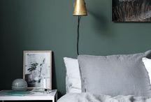 Groene slaapkamers