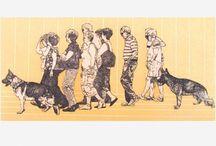 Ivan Trueta / Iván Trueta representa con paciencia, cuerpos, retratos, fragmentos anatómicos; figuras bien planteadas y plantadas que podrían ser suficientes para justificar la obra, ésta sin embargo recibirá sucesivas intervenciones que por su violencia parecen en ocasiones querer negar el trabajo anterior - See more at: http://www.galeriamonicasaucedo.com/artista/ivan-trueta/121#sthash.GSWlLHiT.dpuf