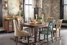Gather Round - Dining / Kitchen, breakfast nook and dining room furniture. Gather round!
