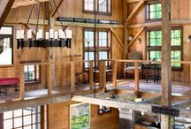 dream barn house / by Elizabeth Woleslagle!