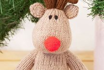 Knitting amigurumi / knitting toys