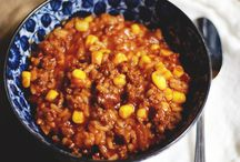 Ground Beef Recipes / Recipes using that kitchen staple - ground beef.