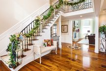 Cleveland Holiday Home / A beautiful and festive home finished with Waterlox Original Sealer/Finish.