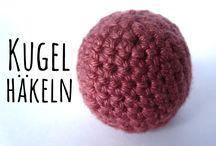 grundformen  häkeln  stricken  3D basic Forms  knitt crochet